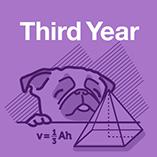 Third Year Maths