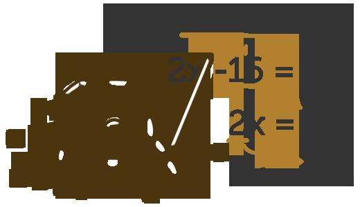 Illustration pug math
