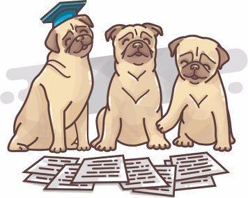 Pugs reviewing applications