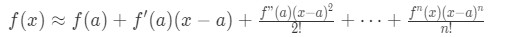 Equation 9: Taylor Series Polynomial lnx pt.5