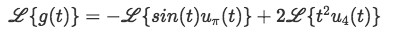 Equation for example 3a