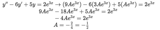 Equation 7(b-2): Finding the value of A