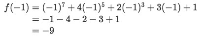 Equation 6: One Real root Polynomial pt.2