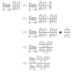 Equation 8: Deriving l'hopital's rule pt.4