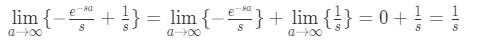 Question 1: Laplace transform of 1 pt.1