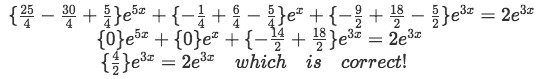 Equation 10: Proof part 3 - Simplifying the expression until finding the solution