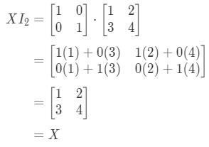 Equation 12: Matrix Multiplication for identity matrix example pt.3