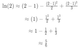 Equation 9: Taylor Series Polynomial lnx pt.7