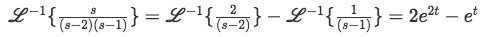 Solution of second right-hand term of the solution for the  differential equation (solution for equation 15)
