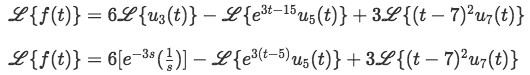 Equation for example 2(a)