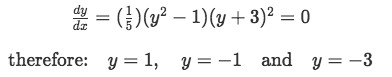Ordinary differential equation to solve