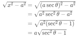 Equation 4: Substituting with asec pt.1