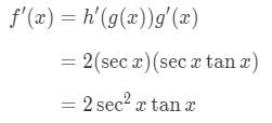 Equation 3: Derivative of sec^2x pt.5