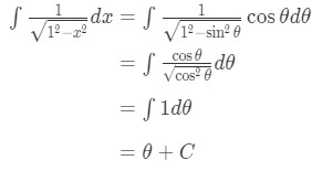 Equation 6: Trig Substitution of inverse sin pt.6