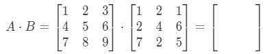 Equation 6: 3 x 3 Matrix Multiplication Example pt.2