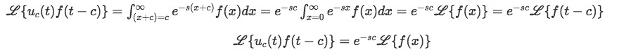 Laplace transform of shifted function (part 2)